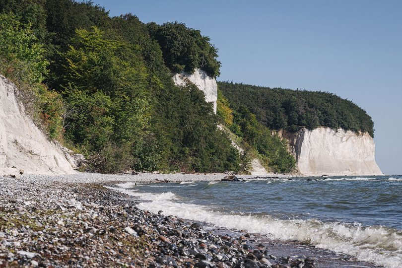 Steilküste und Ufer in Sassnitz