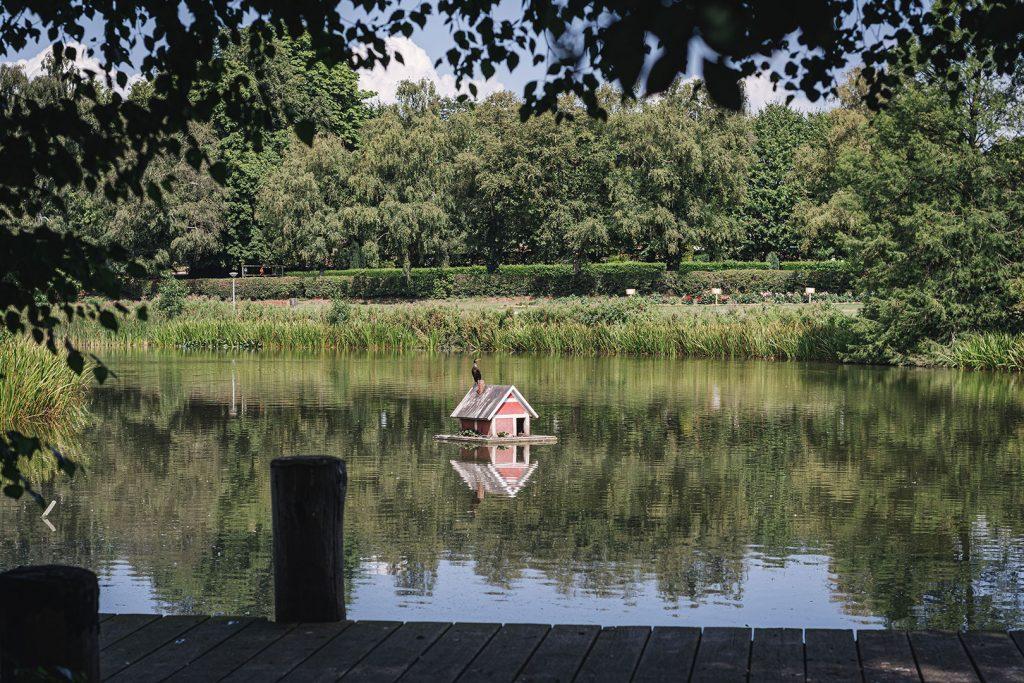 See im Bürgerpark in Gelting