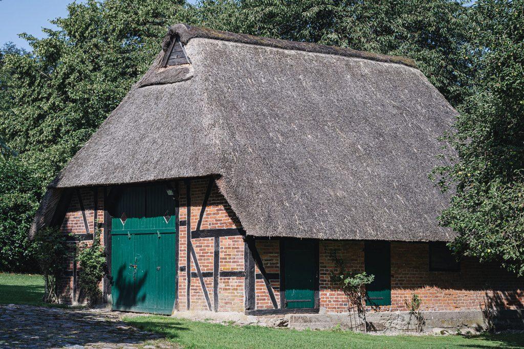 Reetdachhaus in Noer