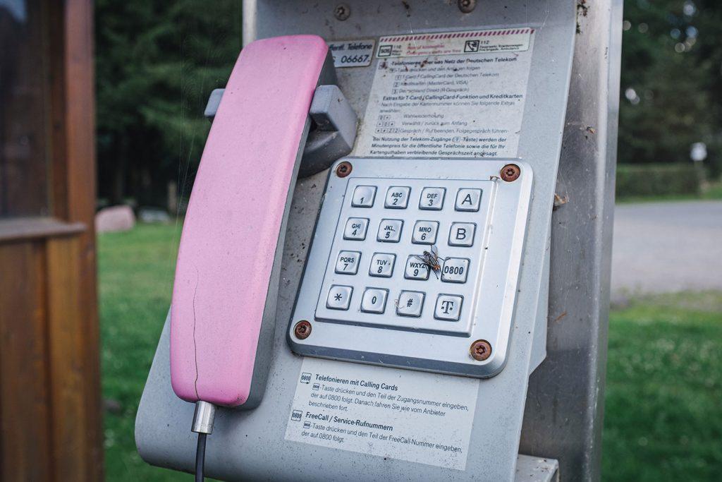 Telefonzelle in Noer