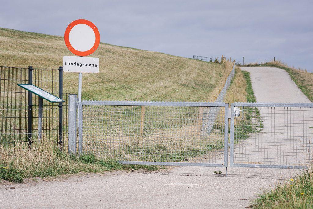 Landesgrenze im Rickelsbüller Koog