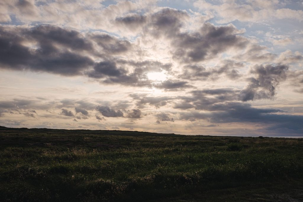 Sonnenuntergang auf Sylt