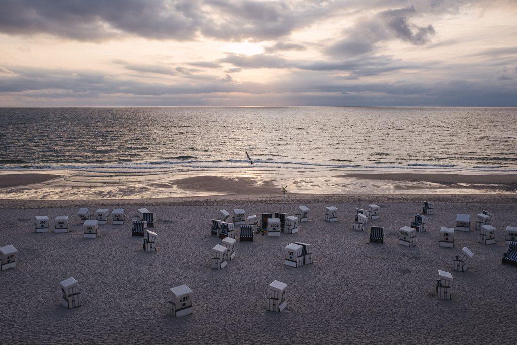 Strandkörbe auf Sylt