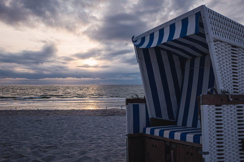 Strandkorb auf Sylt