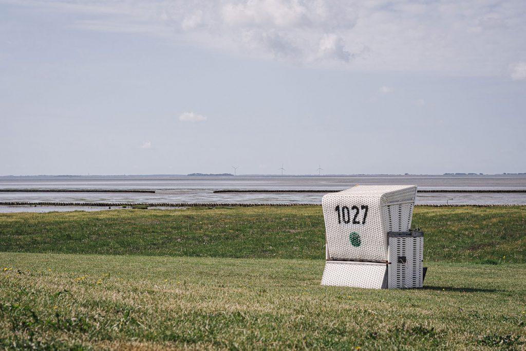 Strandkorb in Südwesthörn