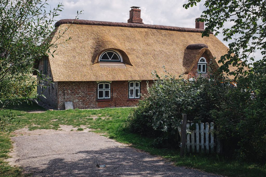 Reetdachhaus in Westerhever