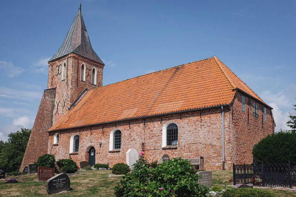 St. Stephanus Kirche in Westerhever