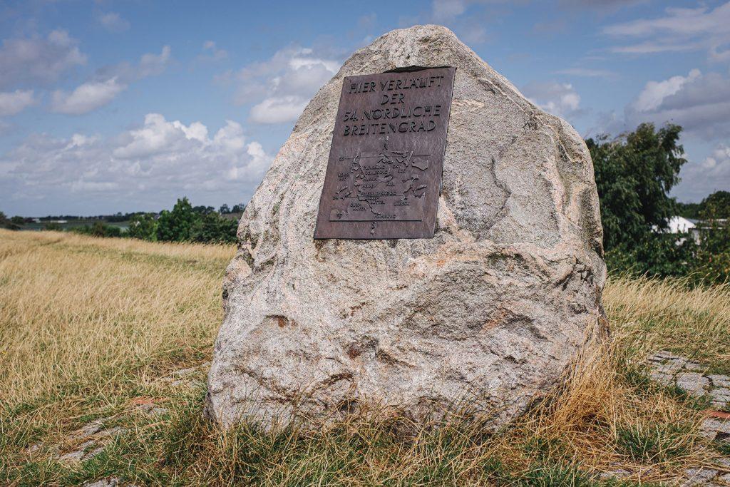 Stein am 54. Nördlichen Breitengrad