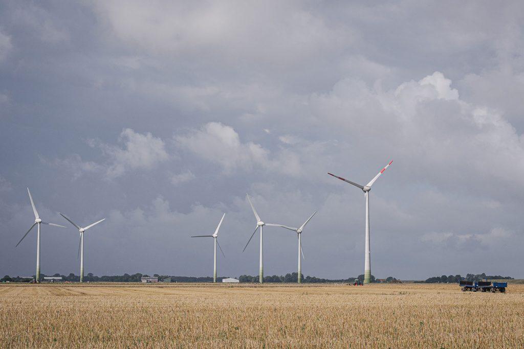 Windräder in Hellschen-Heringsand-Unterschaar