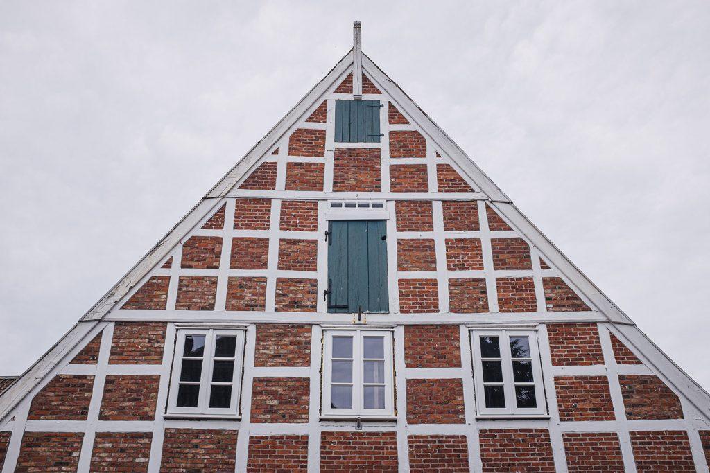 Backstein-Fachwerkhaus in Freiburg (Elbe)