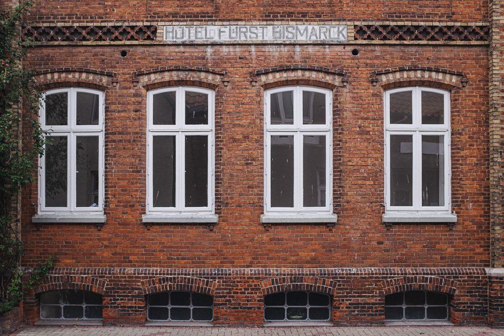 Altes Hotel Fürst Bismarck in Freiburg (Elbe)